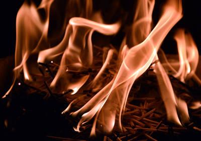Photograph - Brushfire 4 by Sumit Mehndiratta