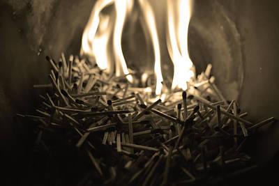Photograph - Brushfire 8 by Sumit Mehndiratta