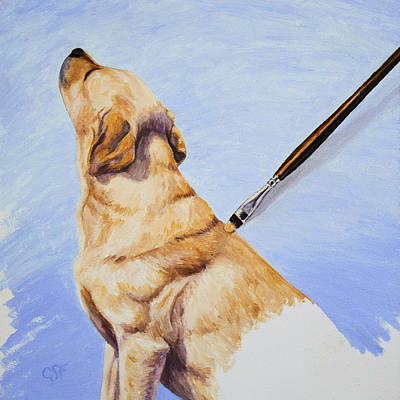 Brushing The Dog Original