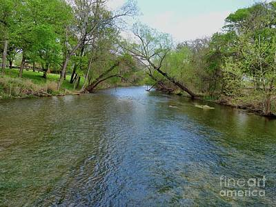 Photograph - Brushy Creek After The Rain  by Janette Boyd