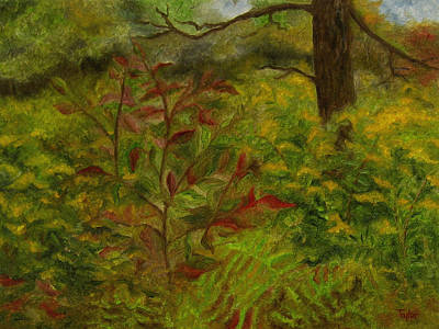Painting - Brushy Woods by FT McKinstry