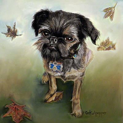 Brussells Griffon  Original by Cat Culpepper