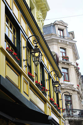 Yellow Photograph - Brussels Flair by Carol Groenen