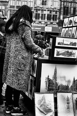Belguim Wall Art - Photograph - Brussels Lovers by Bouquet  Of arts