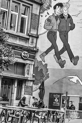 Belguim Wall Art - Photograph - Brussels Street Art by Bouquet  Of arts