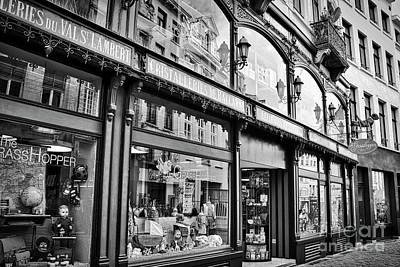 Brussels Toy Store Art Print