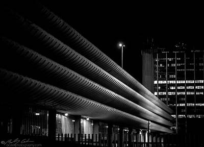 Photograph - Brutalist Architecture 01 by Beverly Cash