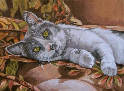 Painting - Brutus by Cheryl Pass