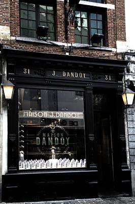 Chocolate Shop Photograph - Bruxelles Chocolate Shop by Georgia Fowler