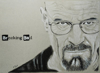 E 20 Drawing - Bryan Cranston by David Briot