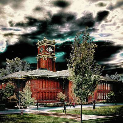 Photograph - Bryan Hall - Pullman Washington by David Patterson