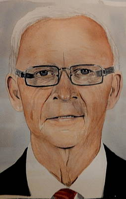 Painting - Bryan Murray by Betty-Anne McDonald