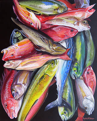 Painting - Bryan's Catch by Phyllis Beiser