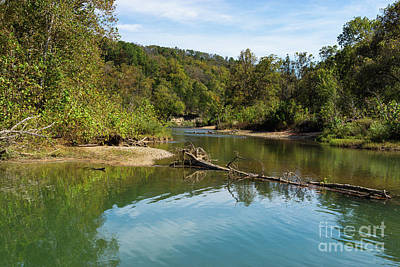 Photograph - Bryant Creek Autumn by Jennifer White