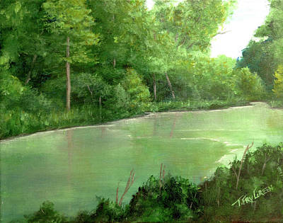 Painting - Bryant Creek by T Fry-Green