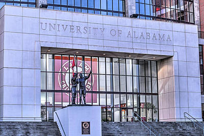 University Of Alabama Photograph - Bryant Denny  by JC Findley
