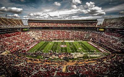 Photograph - Bryant-denny Stadium by Kevin Senter