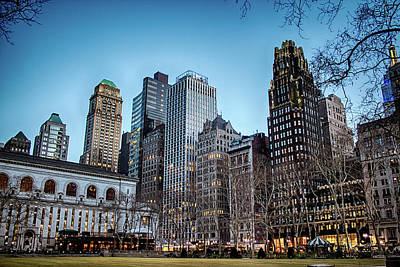 Photograph - Bryant Park  by Alison Frank