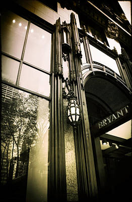 Bryant Photograph - Bryant Park Hotel by Jessica Jenney