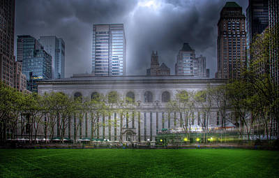 Photograph - Bryant Park by Mark Andrew Thomas