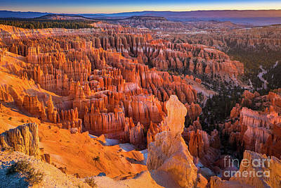 Photograph - Bryce Amphitheater by Inge Johnsson