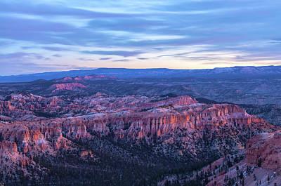 Photograph - Bryce At Dawn 2 by Jonathan Nguyen