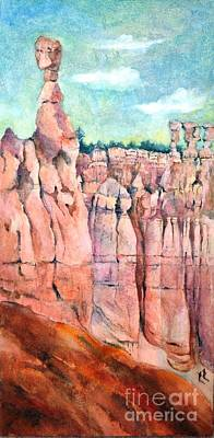Painting - Bryce Canyon #1  by Betty M M Wong