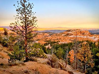 Photograph - Inspiration Point, Bryce Canyon No. 1 by Sandy Taylor