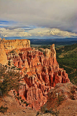 Photograph - Bryce Canyon 22 - Paria View by Allen Beatty