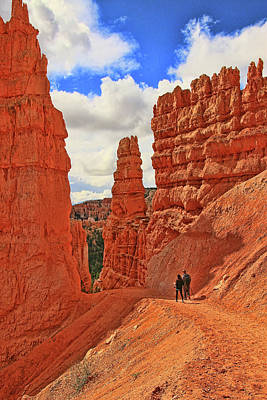 Photograph - Bryce Canyon 25 - Sunrise Point by Allen Beatty