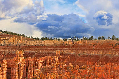 Photograph - Bryce Canyon 27 - Sunset Point by Allen Beatty