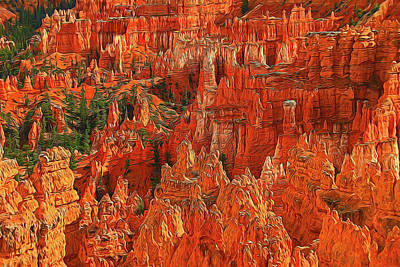 Photograph - Bryce Canyon 30 - Sunset Point by Allen Beatty