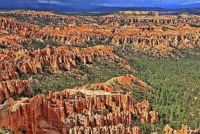 Photograph - Bryce Canyon 31 - Bryce Point by Allen Beatty