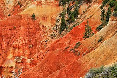 Photograph - Bryce Canyon 32 - Aqua Canyon by Allen Beatty