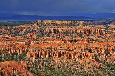 Photograph - Bryce Canyon 34 - Bryce Point by Allen Beatty