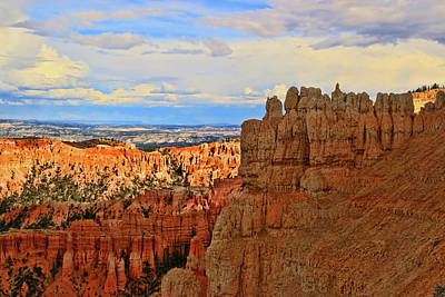 Photograph - Bryce Canyon 36 - Inspiration Point by Allen Beatty