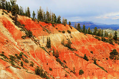 Photograph - Bryce Canyon 37 - Ponderosa Point by Allen Beatty