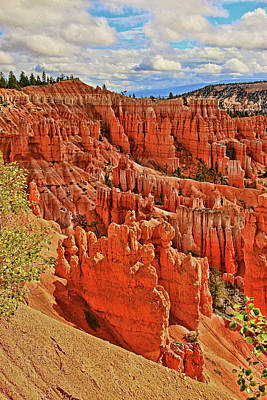 Photograph - Bryce Canyon 41 - Sunrise Point by Allen Beatty