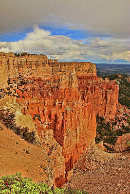 Photograph - Bryce Canyon 7 - Paria View by Allen Beatty