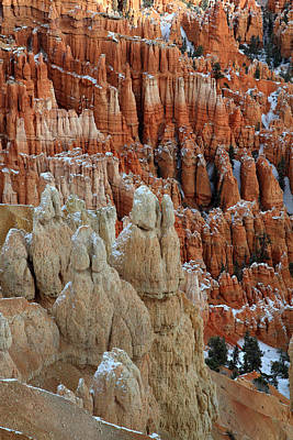 Bryce Canyon Amphitheater Hoodoos Art Print by Pierre Leclerc Photography