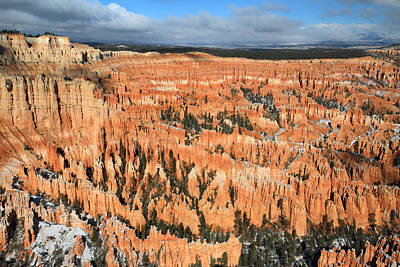Bryce Canyon Amphitheater Art Print by Pierre Leclerc Photography