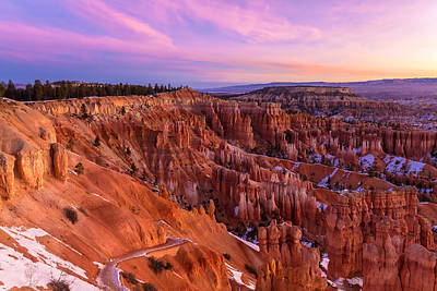 Photograph - Bryce Canyon At Sunrise by Jonathan Nguyen
