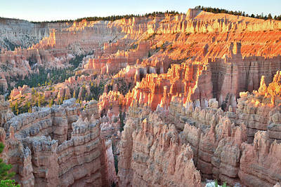 Photograph - Bryce Canyon Day Begins by Ray Mathis