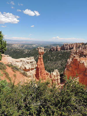 Photograph - Bryce Canyon Formations by Jayne Wilson