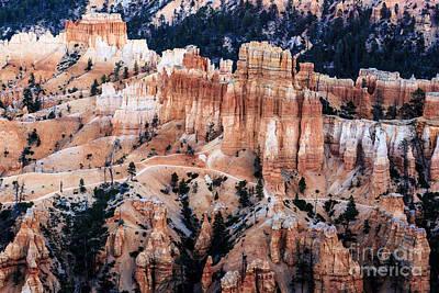 Photograph - Bryce Canyon Hoodoos 3 by Ben Graham