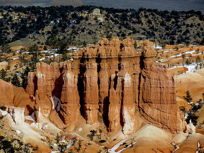 Photograph - Bryce Canyon Series #9 Hoodoos by Patti Deters