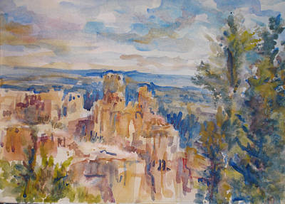 Bryce Canyon Art Print by Joyce Kanyuk