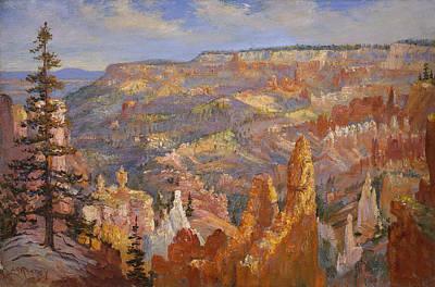 Bryce Canyon Art Print by Lewis A Ramsey