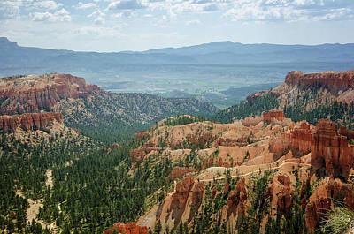 Photograph - Bryce Canyon National Park 3 by Susan McMenamin