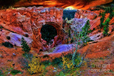Photograph - Bryce Canyon Natural Bridge by Blake Richards